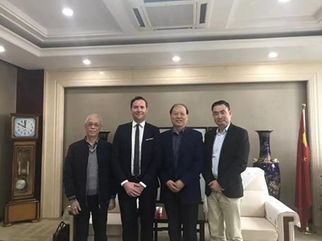 法国普雷耶总裁Benjamin Garnier先生到访中国乐器协会(协会官方新闻稿)